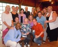 Surprise performance for Phyllis Curtin on her 90th Birthday at Tanglewood